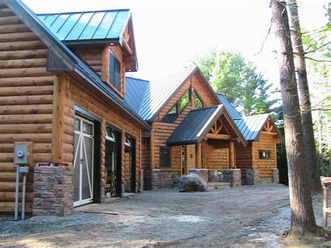 simple log home plans ontario placement architecture