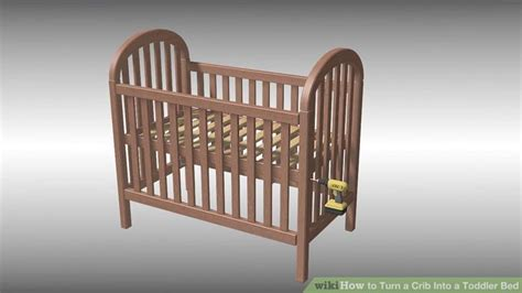 how to turn a crib into a toddler bed how to turn crib into toddler bed home design ideas