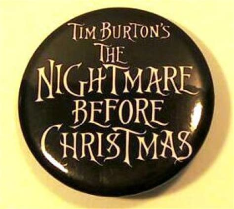 Eminent Collection Soft 6184 20 Inch nightmare before logo button from our buttons