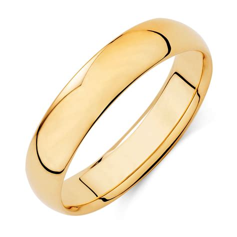 wedding bands in ct s wedding band in 10ct yellow gold