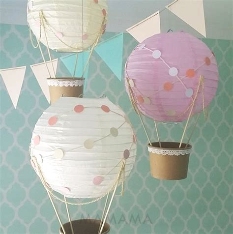 air balloon centerpiece diy whimsical air balloon decoration diy kit nursery decor