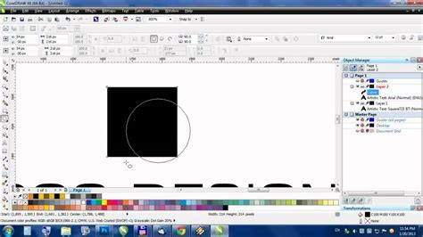 tutorial corel draw photoshop how to make layered photoshop file in corel draw youtube