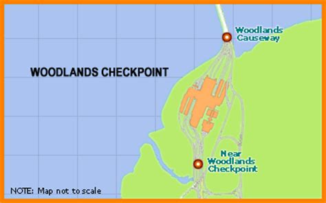 traffic info: woodlands checkpoint traffic info