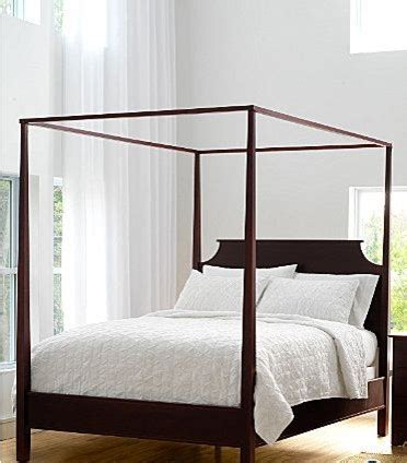 Four Poster Canopy Bed Frame New Market Maple Four Poster Bed Traditional Canopy Beds By Garnet Hill