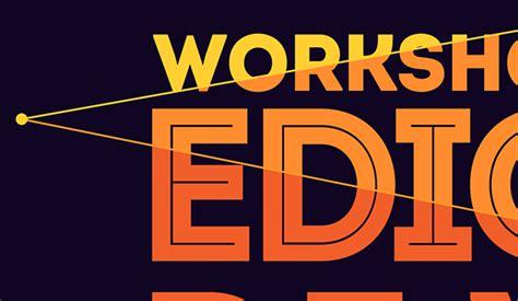 poster design editor video editing workshop on behance