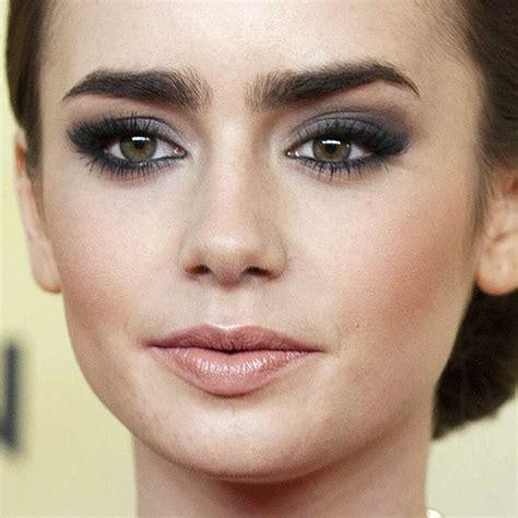 Lipstik Ily collins makeup charcoal eyeshadow lipstick style