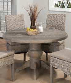 Gray Dining Room Table by Jofran Burnt Grey 48 Inch Round Dining Table W Fixed Top