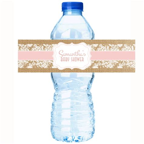 Water Bottle Baby Shower Labels by Water Labels For Baby Shower