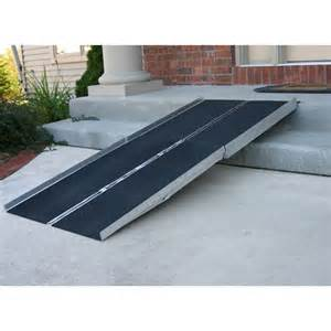 Wheelchair Ramps For Steep Stairs by Temporary Wheelchair Ramp Over Steps Stairs Specs Price