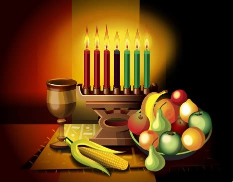 Kwanzaa candles clipart indesignartsandcrafts com