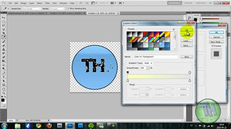 photoshop tutorial watermark logo how to make a proffesional watermark logo in photoshop cs5