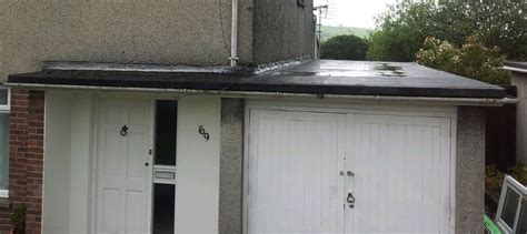 Replacing A Flat Garage Roof by Replace Garage Flat Roof With A Pitched Roof Roofing
