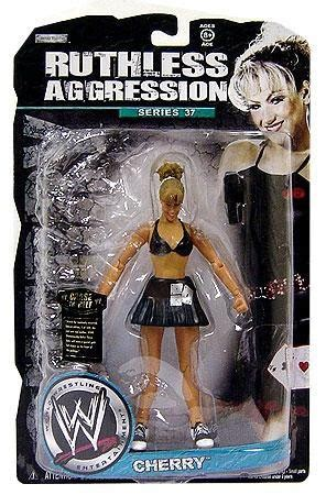 wwe wrestling ruthless aggression series 37 cherry action