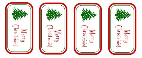printable merry christmas gift tags creations by kara