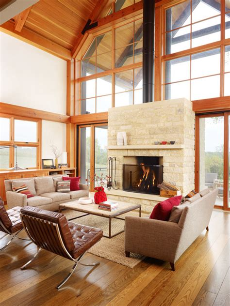 farm living room thistle hill farm farmhouse living room milwaukee by northworks architects and planners