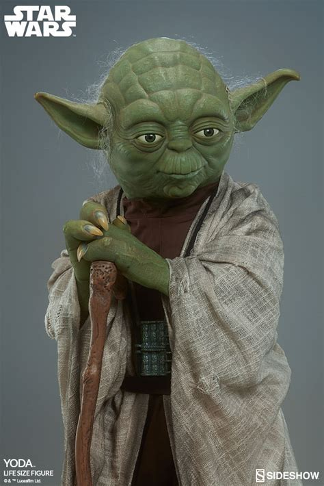 figure yoda wars yoda size figure by sideshow collectibles