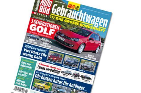 Auto Bild Sportscars Sonderheft 1 by Auto Bild Sonderheft Gebrauchtwagen Herbst 2014 Autobild De