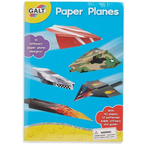 paper craft kits paper planes craft kit educational toys planet