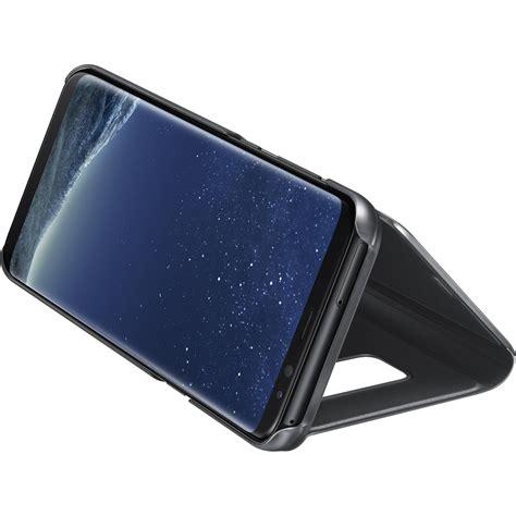 Flip Cover Samsung S8 Original samsung s view flip cover for galaxy s8 black ef