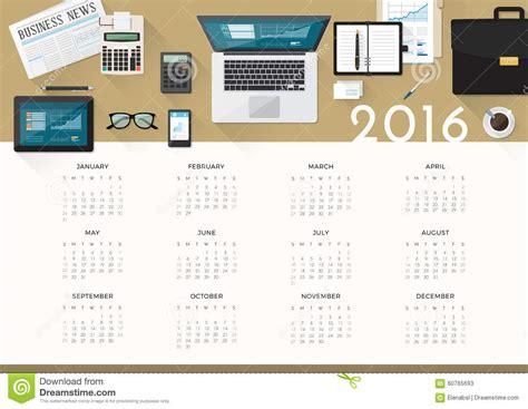 Business Day Calendar Business Day Calendar 2016 Calendar Template 2016