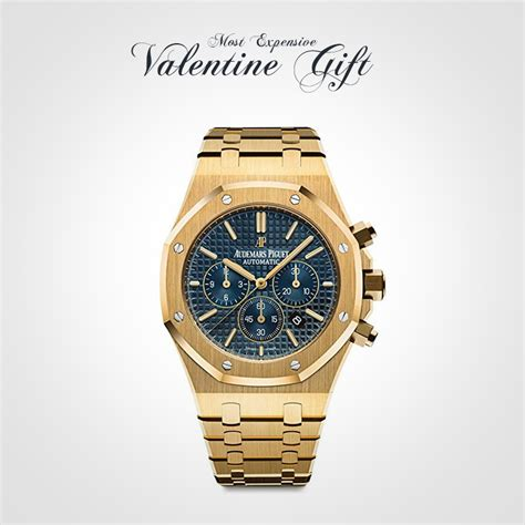 Audemars Piguet Royal Sb 10 world most expensive gifts for his