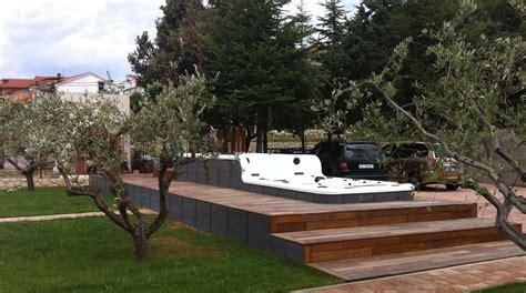 ulivi in giardino minipiscina doubledecker in giardino di ulivi
