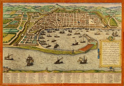 braun hogenberg cities of the map of messina braun and hogenberg 1572