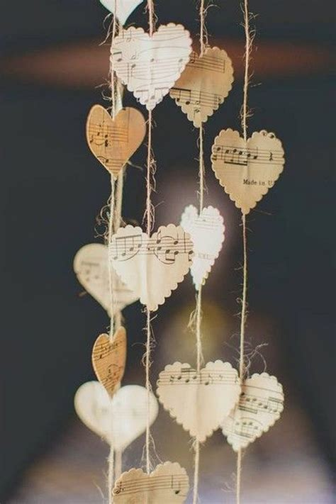 music decor easy to make romantic sheet music decorating projects diy