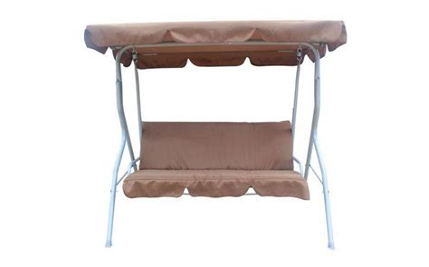 3 Seater Garden Swing Chair by Garden Swing Hammock 3 Seater Chair Fhsc01 Brown Kms Direct