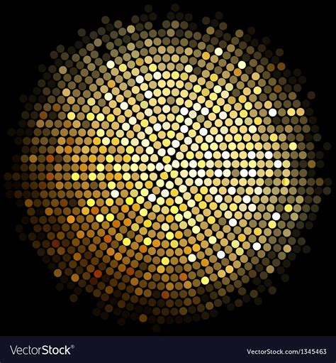 big disco light gold disco lights background royalty free vector image