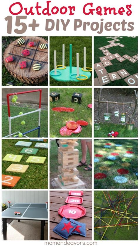 diy backyard games for adults diy outdoor games 15 awesome project ideas for backyard