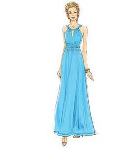 grecian dress pattern for formal or casual wear butterick