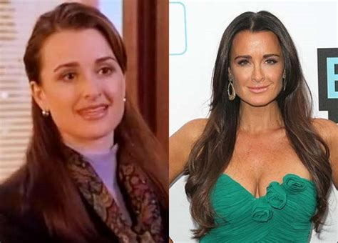 what does kyle richards do to make her hair look thicker celebrity plastic surgery before and after photos part 9