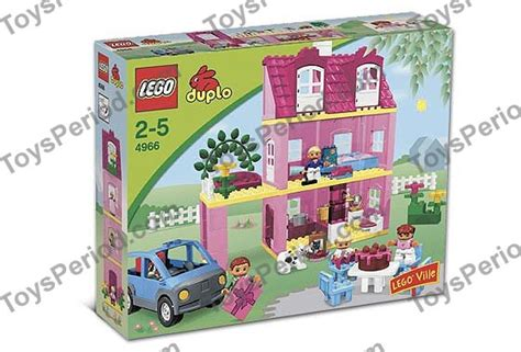 duplo doll house duplo dolls house lego 4966 doll s house set parts inventory and lego reference guide