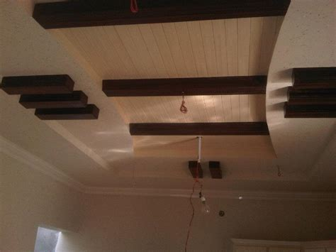 Wooden Ceiling Design Pop With Wood Ceiling Design Gharexpert