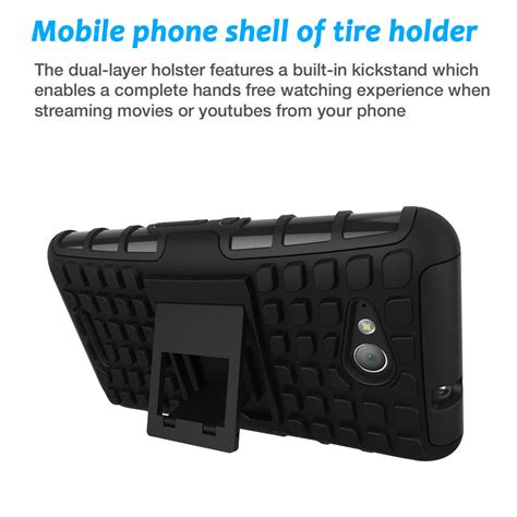 Hardcase Back Cover Rugged Armor Kickstand Sony Xperia Z5 Premium stand rugged shockproof defender hybrid rubber cover