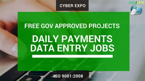 Government Online Jobs Work From Home - online data entry jobs 1 registration fees 2 years free work daily payment