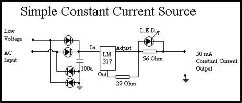 constant current diode uses diode constant current source 28 images constant current source using transistor and zener