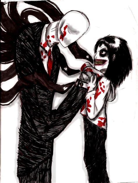 imagenes reales de jeff the killer vs slenderman fan art slenderman