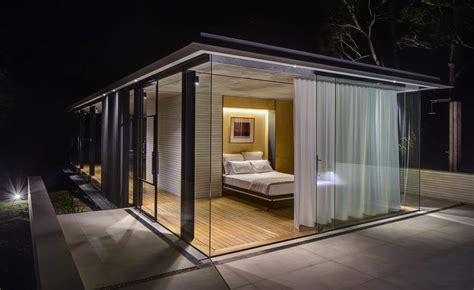 modern glass houses a modern glass house in australia wirra willa pavilion