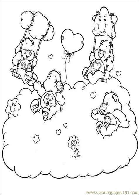 care bear coloring pages pdf care bears 47 coloring page free the care bears coloring