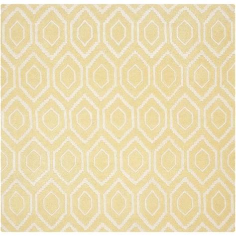 gold rugs contemporary safavieh chatham light gold contemporary rug square 4 cht731l 4sq