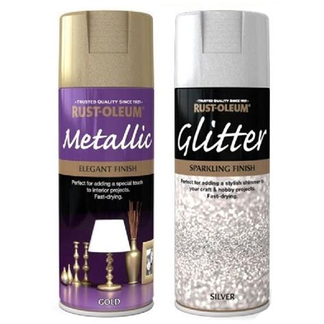 best glitter spray paint gold silver glitter top coat spray paint picture