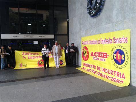 bbva por jornada de protesta en bbva colombia por despidos