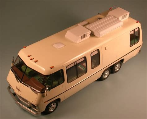 commercial vehicle model kits my next project making an semi accurate gmc motorhome