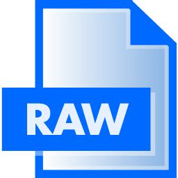 format file raw raw file extension icon file extension icons softicons com