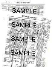 1973 73 Pontiac Tempest Gto 11x17 Color Wiring Diagram Ebay