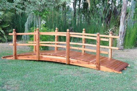 yard bridges wooden yard bridges pdf plans