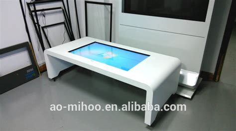 Touch Screen Conference Table 42 Inch Multi Media Touch Screen Information Table Kiosk Multi Touch Screen Conference Table