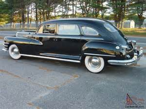 1948 Chrysler Imperial 1948 Chrysler Crown Imperial Limousine